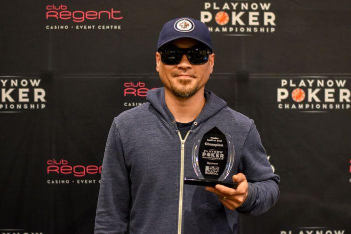 Khai Nguyen PlayNow Poker Championship PNPC Club Regent Casino