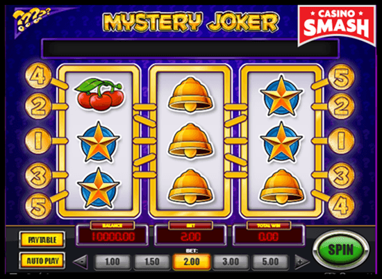 Slot machine mistery 100