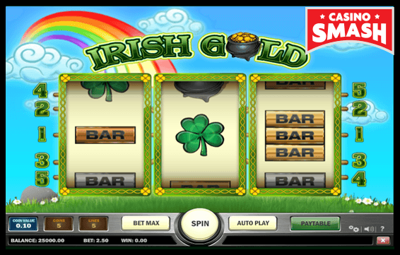 Irish gold vegas style slot machines