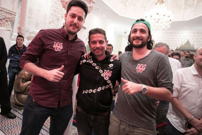 Adrian Mateos with Bruno Lopes and Davidi Kitai