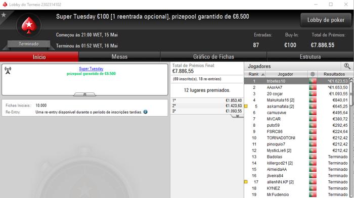 hhtuga13 Recebe maior Prémio da Super Tuesday da PokerStars.pt 102
