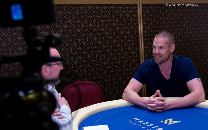 Ben Wilson interviews Patrik Antonius