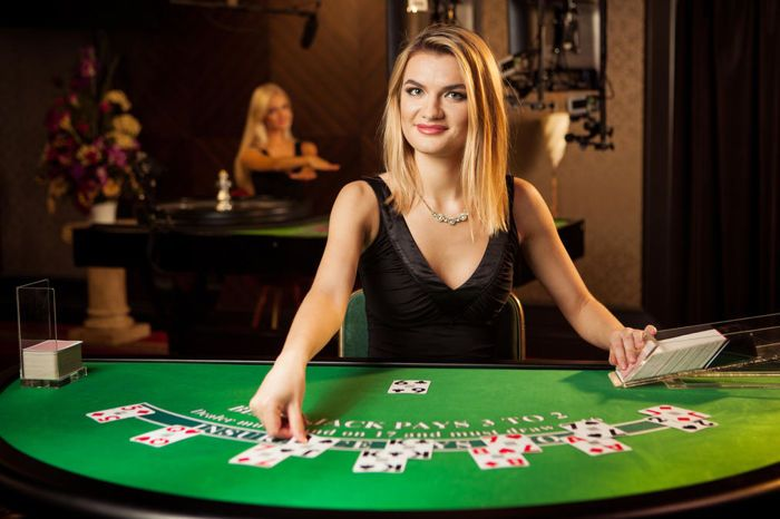 live dealer Blackjack online real money