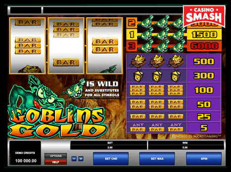 goblin's gold aristocrat slots