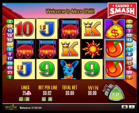 more chilli aristocrat slots