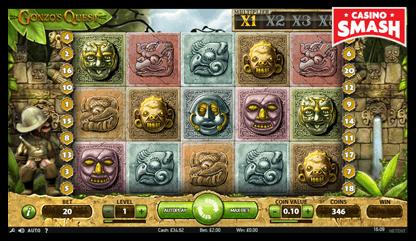 Gonzo's Quest netent slots