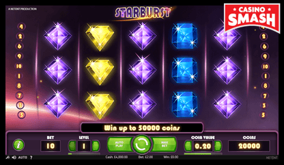 starburst netent slots