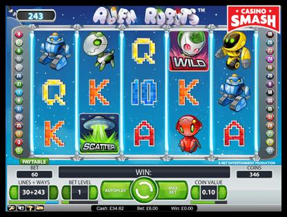 Alien Robots netent slots