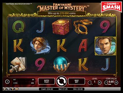 Fantasini: Master of Mystery netent slots