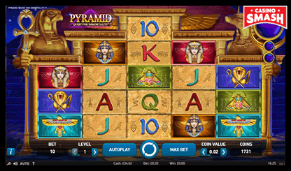 Pyramid: Quest for Immortality netent slots