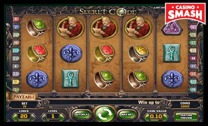 secret code netent slots