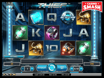 thief netent slots