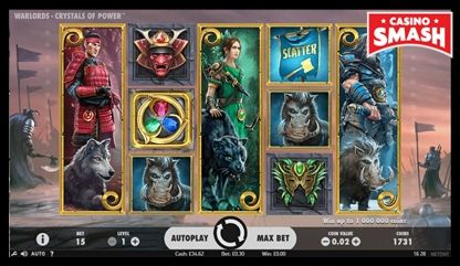 Warlords: Crystals of Power netent slots