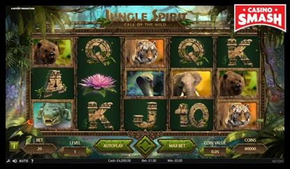 Jungle Spirit: Call of the Wild netent slots