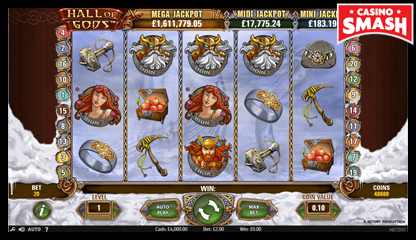 hall of gods netent slots