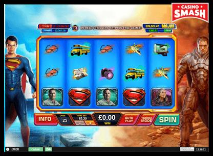 Man of Steel playtech slots