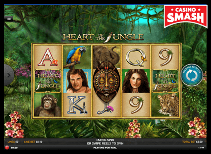 Heart of the Jungle playtech slots
