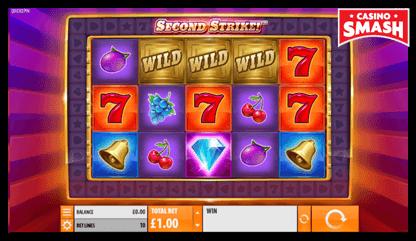 Second Strike playtech slots