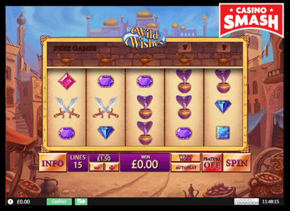 Wild Wishes playtech slots