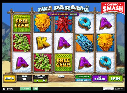 Tiki Paradise playtech slots