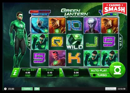 Green Lantern playtech slots