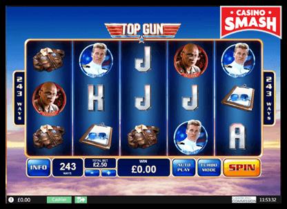 Top Gun playtech slots