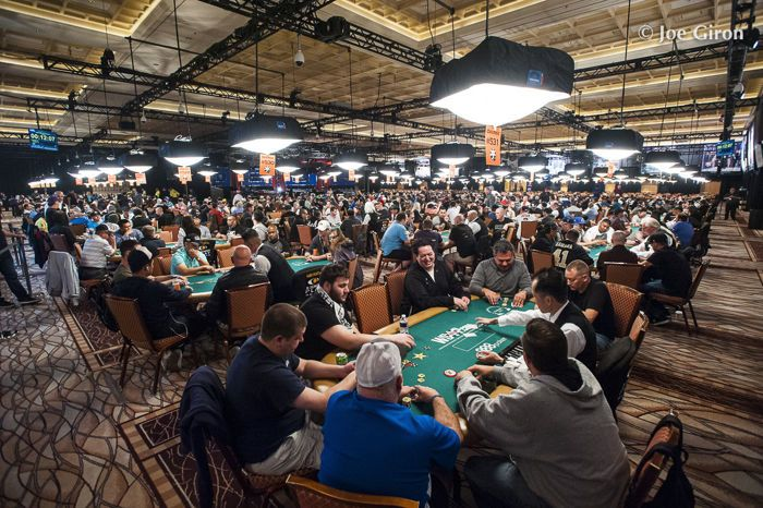 WSOP Tournament Area