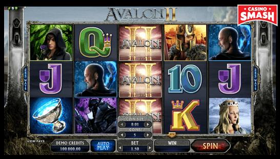 Avalon II Microgaming Slots