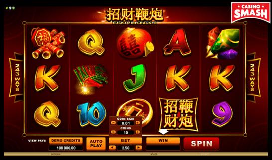 Lucky Firecracker Microgaming Slots