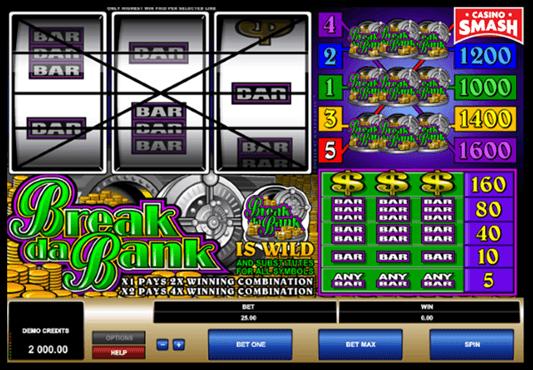 Break da Bank Microgaming Slots