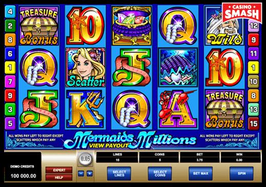 Mermaids Millions Microgaming Slots