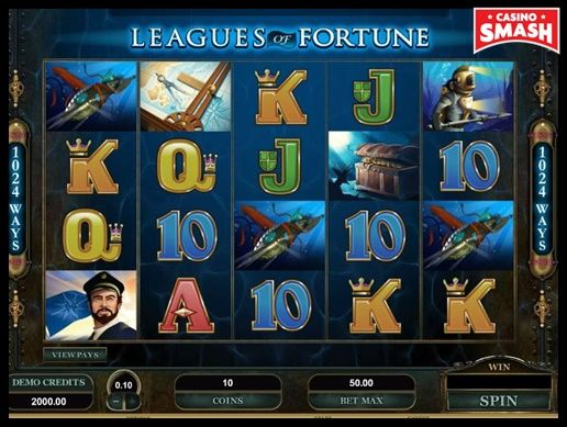 Leagues of Fortune Microgaming Slots