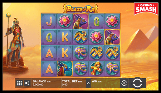 Blaze of Ra The Best 10 Penny Slots