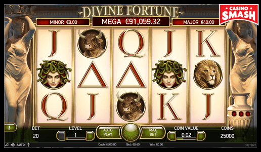 Divine Fortune The Best 10 Penny Slots