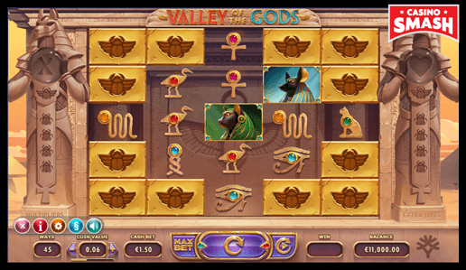 Valley of the Gods The Best 10 Penny Slots