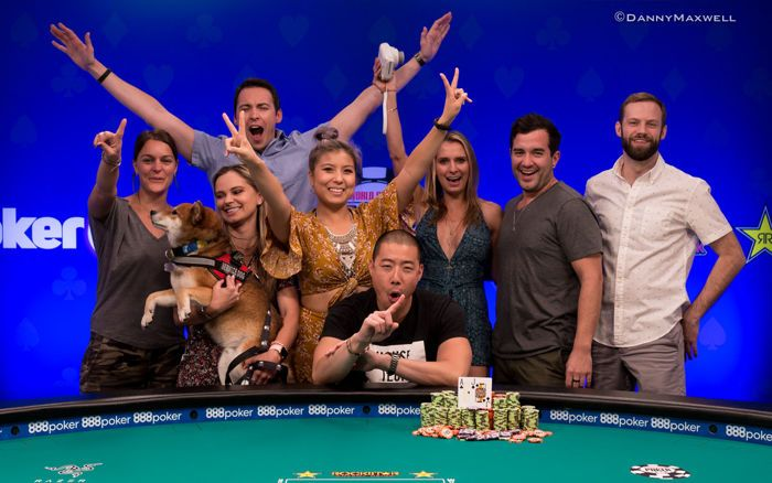 Benjamin Moon - 2018 $1,500 Big Blind Antes No-Limit Hold'em Winner
