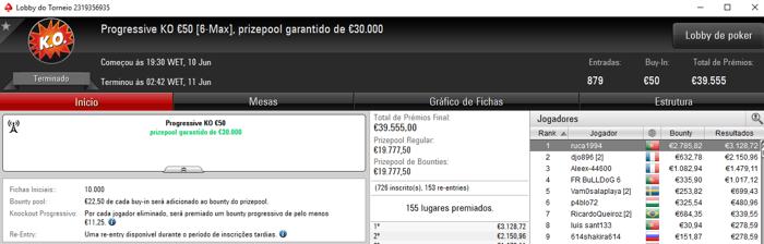 SuSanch0 Volta a Brilhar nos Torneios Regulares da PokerStars.FRESPT 102