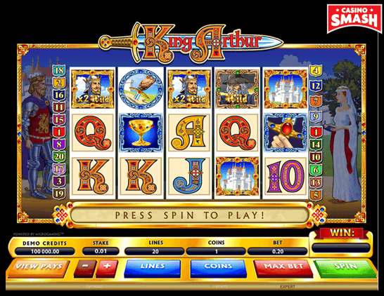 King Arthur Microgaming Slots