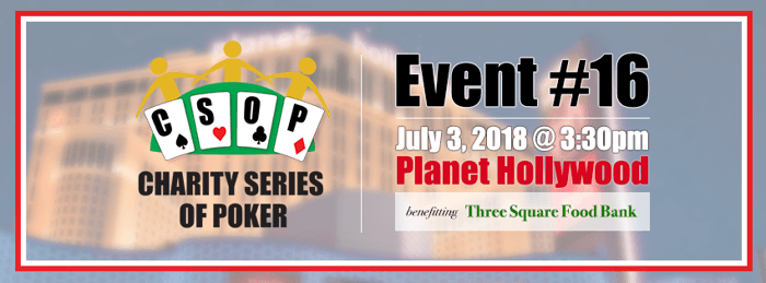 Charity Series of Poker