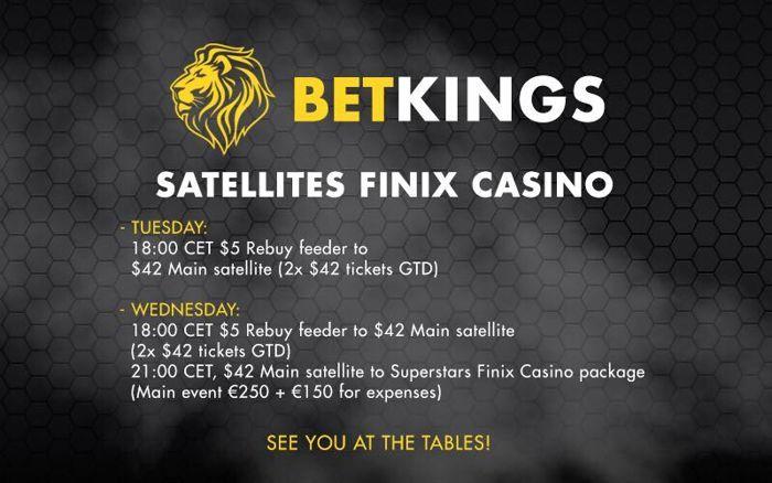 Εβδομάδα satellites με 30 tickets εγγυημένα για το Finix Superstars 101