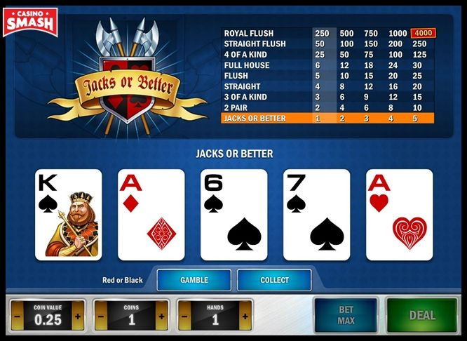 How To Play Jacks Or Better Poker