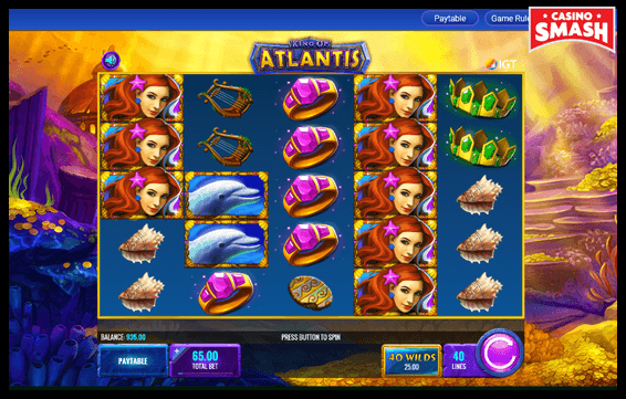 High Volatility Slot to Try: King of Atlantis