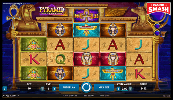Slot to Play with Free Spins: Pyramid Quest For Immortality