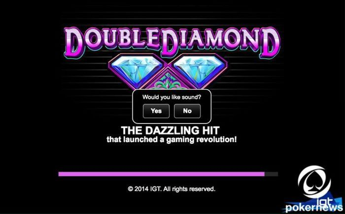 Double Diamond Slots Play Online With 3 000 Credits Pokernews