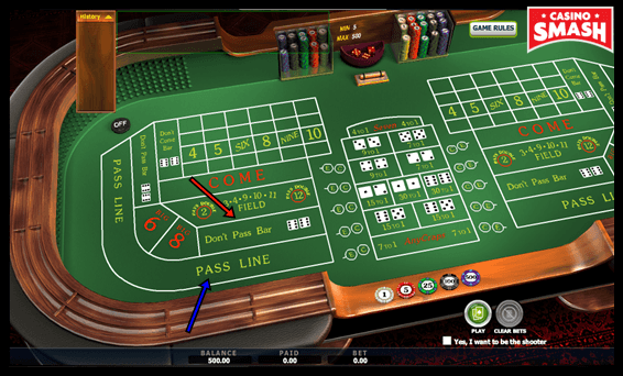 Craps Betting Rules