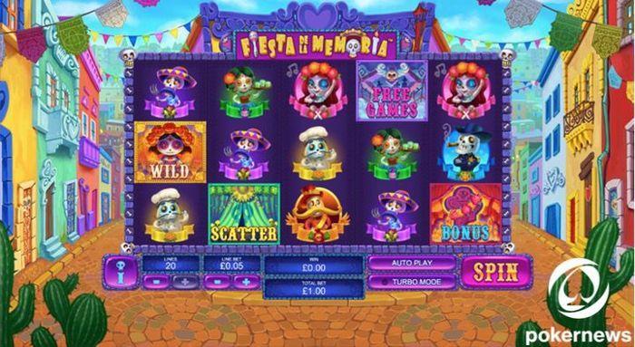 Fiesta de la memoria is a fun casino game to play for real money