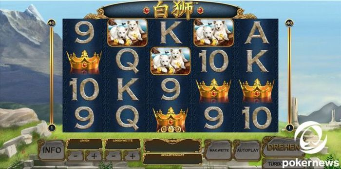Brand New Casino Video Slot Bai Shi