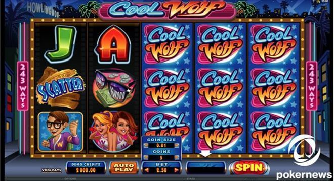 best Slot machines to play Cool Wolf