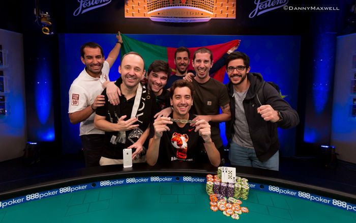 Diogo Veiga - Vencedor do 2018 WSOP Big Blind Antes $3,000 No-Limit Hold'em