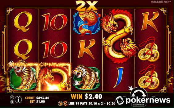 8 Dragons Asian Gambling Game